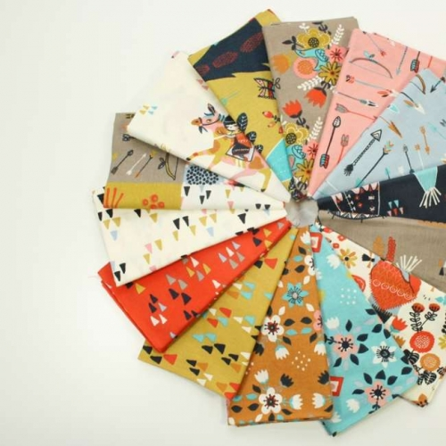 BIRCH Fat Quarter Bundle Wildland