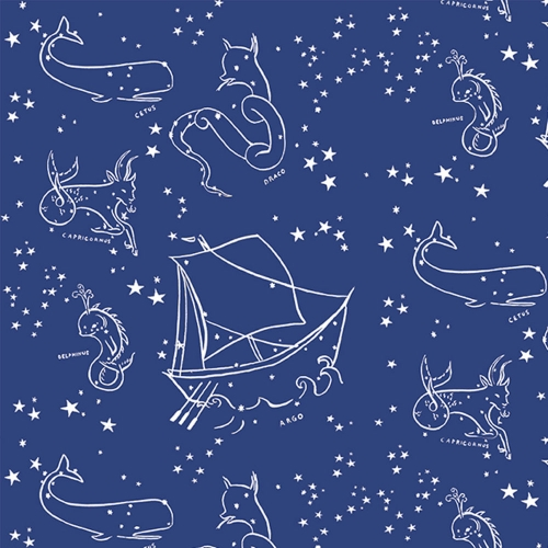 BIRCH Interlock Jersey Stars of the Sea Saltwater