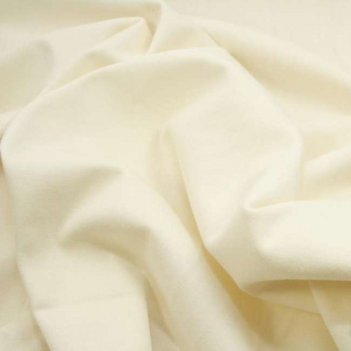 B-WARE! Birch Fabrics Bio-Uni Interlock Jersey Cream Knit Solids