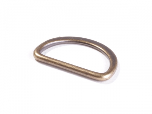Snaply  D-Ringe altmessing 25 mm