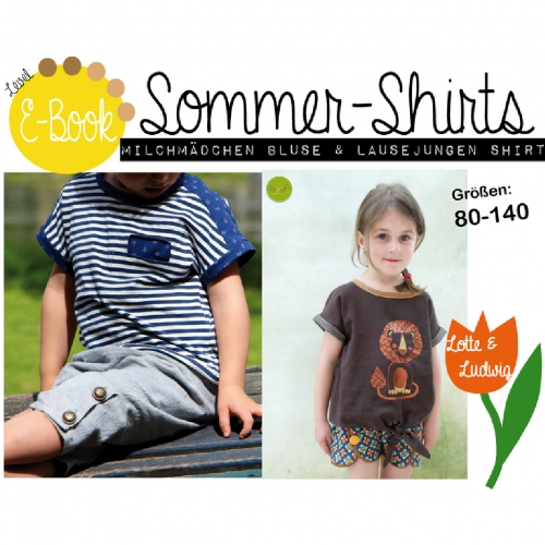 Ebook Sommershirts 80-140 | Lotte & Ludwig
