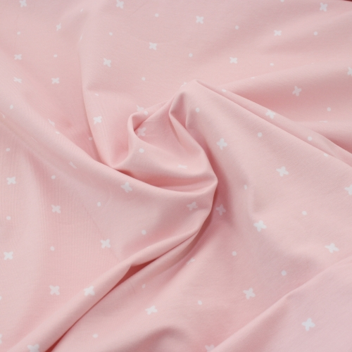 STENZO Bio-Basic Jersey Stars & Dots Light Pink