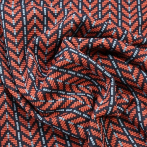 ALBSTOFFE Bio-Jacquard Jersey In Nepal Col. 4 This Summer