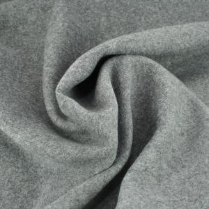 ALBSTOFFE Bio-Fleece Carbon Melange