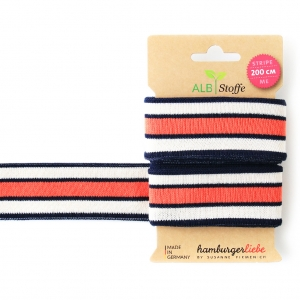ALBSTOFFE Bio-Band Stripe Me COLLEGE 18 Check Point