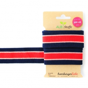 ALBSTOFFE Bio-Band Stripe Me COLLEGE 26 Check Point