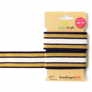 ALBSTOFFE Bio-Band Stripe Me GLAM 21 Check Point