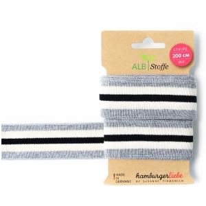 ALBSTOFFE Bio-Band Stripe Me GLAM 23 Check Point