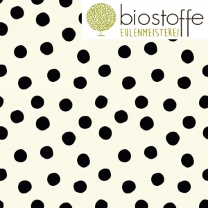BIRCH Interlock Jersey Bio Pop Dots Black