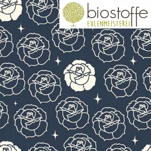 BIRCH Bio Canvas Stamped Rose Dusk Tall Tales