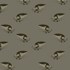 BIRCH Bio-Interlock Jersey Burrowing Owl Western Birds