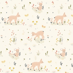 BIRCH Bio-Interlock Jersey Little Deer Little