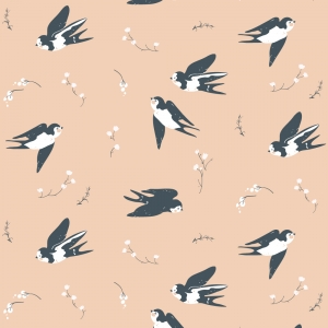 BIRCH Bio-Interlock Jersey Happy Swallow Little