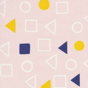 CLOUD9 Bio-Canvas Geometry Chalk Pink Lines & Shapes
