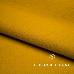 LEBENSKLEIDUNG Bio-Cord Sweat Golden Yellow