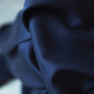 MEET MILK Tencel Sanded Twill Navy