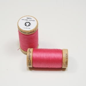 SCANFIL Bio-Nähgarn Rose #4810