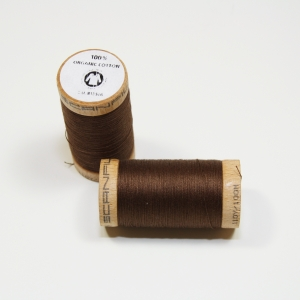 SCANFIL Bio-Nähgarn Walnut #4829