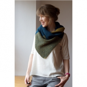 Rosy Green Wool Strickmuster Shrug & More